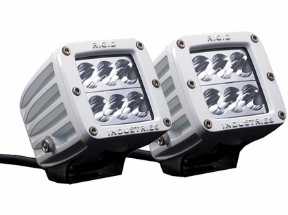 Rigid Industries 70211 Marine D2 Surface Mount Wide Pair