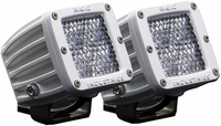 Rigid Industries 70251 Marine D2 Surface Mount Diffused Pair