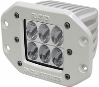Rigid Industries 71131 Marine D2 Flush Mount Driving LED Single