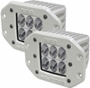 Rigid Industries 71231 Marine D2 Flush Mount Driving LED Pair