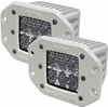 Rigid Industries 71251 Marine D2 Flush Mount Diffused Pair