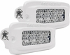 Rigid Industries 96551 Marine SR-Q Flush Mount Diffused Pair