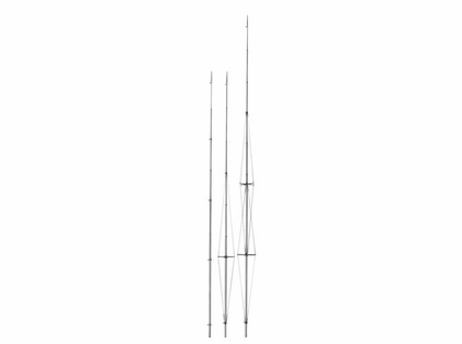 Rupp A0-1500-CRP Center Rigger Poles