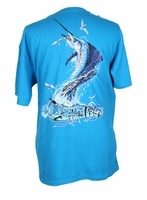 Salt Life Men's Sailfish Explosion SS Tees
