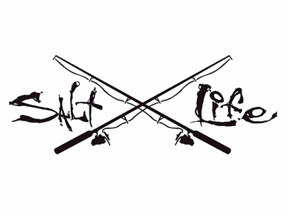 Salt Life Signature and Poles Decals