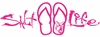 Salt Life Signature Sandal Decal - Pink