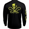 Salt Life Skull and Hooks LS Pocket Tees