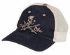 Salt Life Skull and Poles Navy Hat