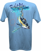 Salt Life SL0014 Men's Tuna Hunt Pocket SS Tee