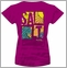 Salt Life SLJ133 Women's Salty Wave Tees
