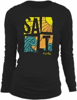 Salt Life SLJ134 Women's Salty Wave LS Tee