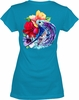 Salt Life SLJ160 Women's Hibiscus Dream Tee