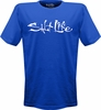 Salt Life SLM001 Signature Logo Tees Royal - X-Large