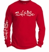 Salt Life SLM002 Signature Logo Long Sleeve T Shirts