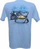 Salt Life SLM0043 Crab Claw Men's SS T-Shirt