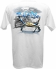 Salt Life SLM0043 Men's Crab Claws SS Pocket Tee - White