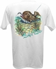 Salt Life SLM0044 Men's Flounder Pounder SS Pocket Tee - White