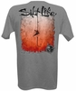 Salt Life SLM0080 Men's Hook Line and Sinker Fade SS Tee