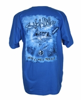 Salt Life SLM0112 Men's Here Comes Trouble SS Tee