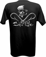 Salt Life SLM0120 Chrome Hooks T-Shirt