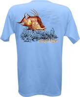 Salt Life SLM027 Men's Hog Craze SS Tee