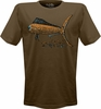 Salt Life SLM082 Men's Sketched Mahi Heathered SS Tee