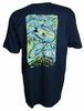 Salt Life SLM10005 Bold Tuna Men's SS T-Shirt