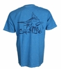 Salt Life SLM10016 Marlin Life Men's SS T-Shirt