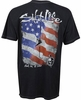 Salt Life SLM10062 Hook Line & Sinker Flag SS Mineral Wash Pocket Tee