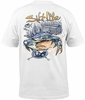 Salt Life SLM10077 Blue Crab S/S Pocket Tee