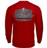 Salt Life SLM10131 Sea Tribe Life LS Pocket T-Shirt - Red