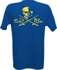 Salt Life SLM126 Men's Skulls and Poles Logo SS Pocket Tees