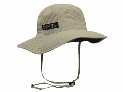 Salt Life SLM244 Signature SLX Vented Bush Hat Khaki