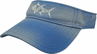 Salt Life SLM246 Tribal Fish Visor Caribbean