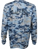 Salt Life SLM682 Deep Water SLX UVapor L/S Pocket Tee