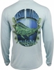 Salt Life SLM684 Fish Hard SLX Performance L/S Pocket Tee