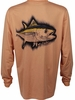 Salt Life SLM688 Tuna Chase SLX Performance L/S Pocket Tee