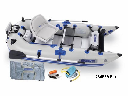 Sea Eagle Frameless Pontoon Boats