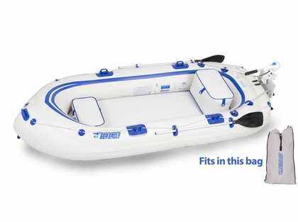 Sea Eagle SE-9 Fisherman's Dream Inflatable Motormount Boat