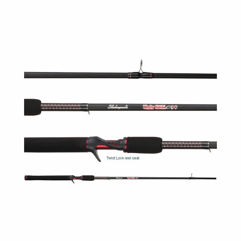 shakespeare ugly stik gx2 casting rods | tackledirect, Fishing Rod