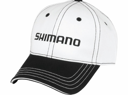 Shimano AHAT100CWH Cotton Hat White