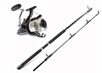 Shimano BTR8000OC Baitrunner OC Reel / Ande 5000 Series ATS-5701A MH Spinning Rod Live Bait Combo