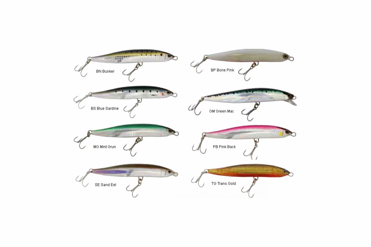 Shimano Coltsniper Sinking Stickbait Lures Tackledirect