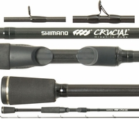Shimano Crucial Bass Casting Rods - Swimbait