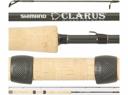 Shimano CSS130ML4B Clarus Center Pin Salmon & Steelhead Rod 4pc