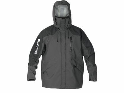 Shimano Dryfender 3T Jacket Charcoal