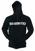 Shimano Orion Zip Front Hoody Black