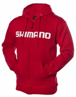 Shimano Orion Zip Front Hoody Red