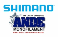 Shimano Reel and Ande Rod Combos