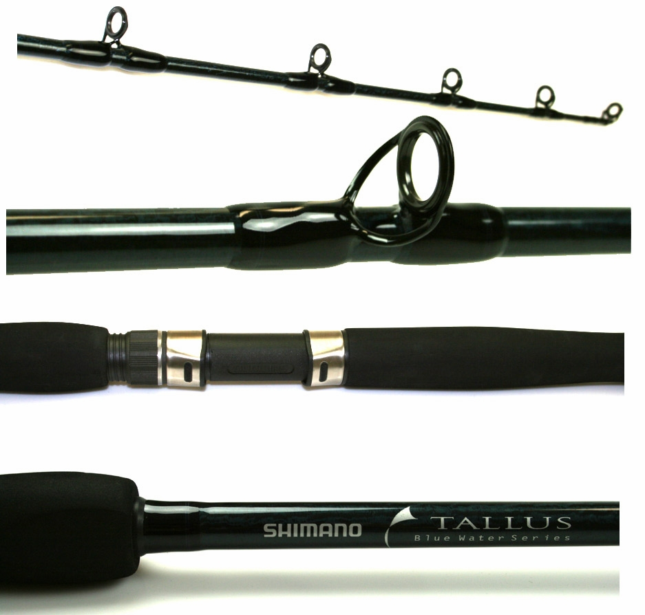 Shimano Tallus Blue Water Conventional Rods | TackleDirect
